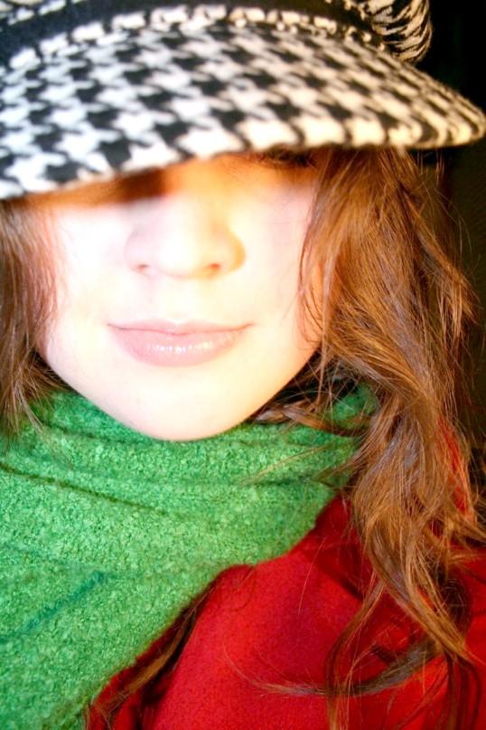 Як носити зимовий шарф