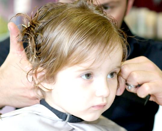 Як підстригти малюка