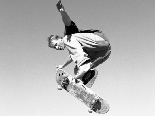 Як повертати на скейті