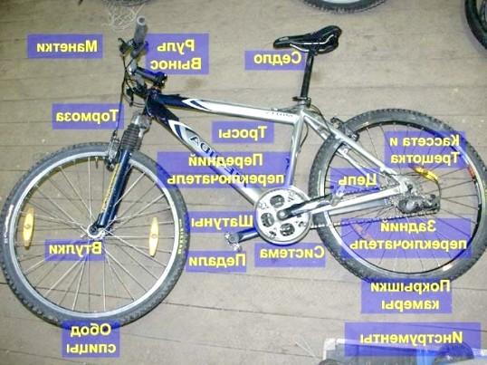Як розібрати велосипед на запчастини