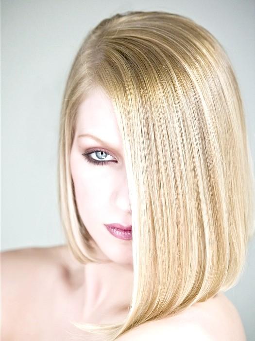 Як зробити укладку для середній довжини волосся