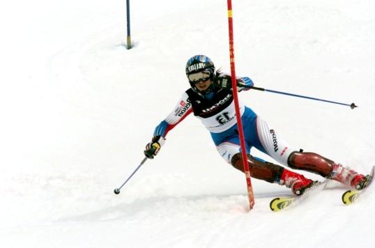 Як спускатися на лижах