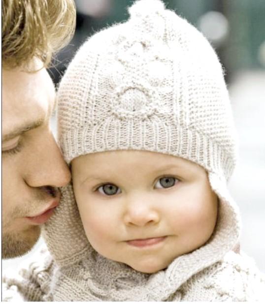 Як зв'язати теплу шапочку новонародженому