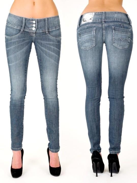 Як посадити джинси