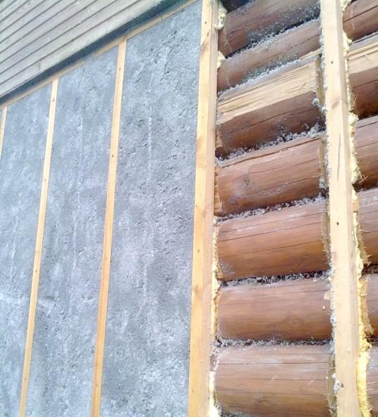 Як утеплити стіни брусового будинку