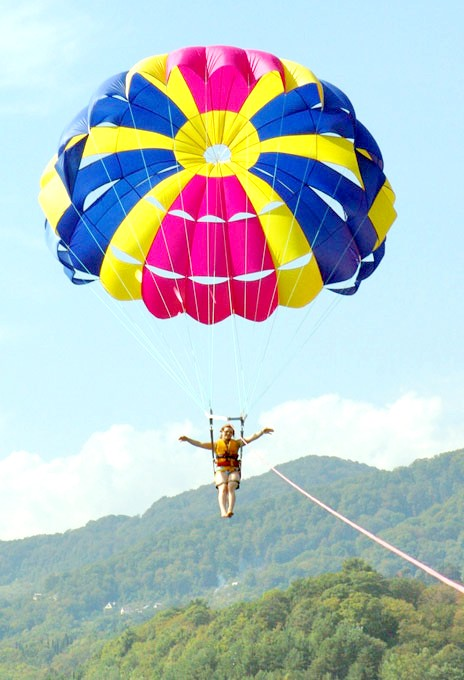 Як зшити парашут