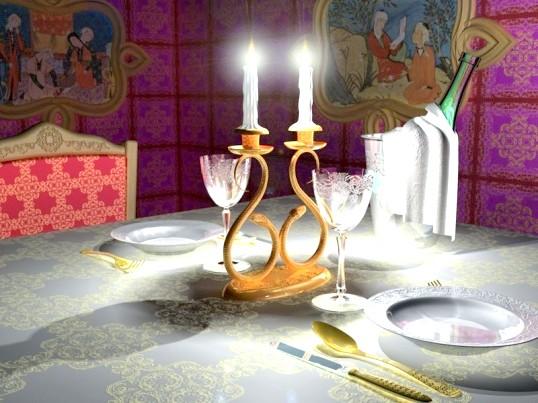 Що потрібно для романтичної вечері