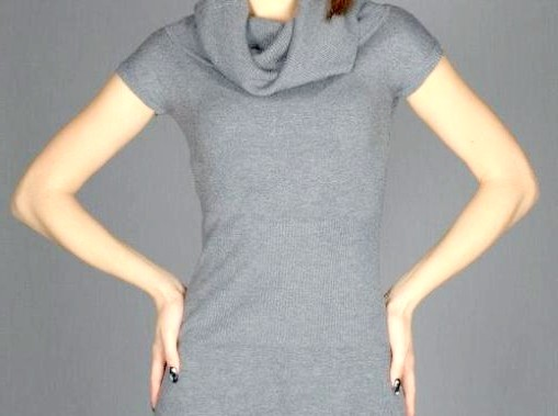 Як і з чим носити сіру сукню