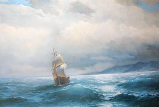 Як намалювати морський пейзаж