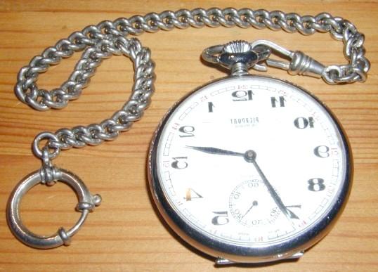 Як носити кишеньковий годинник