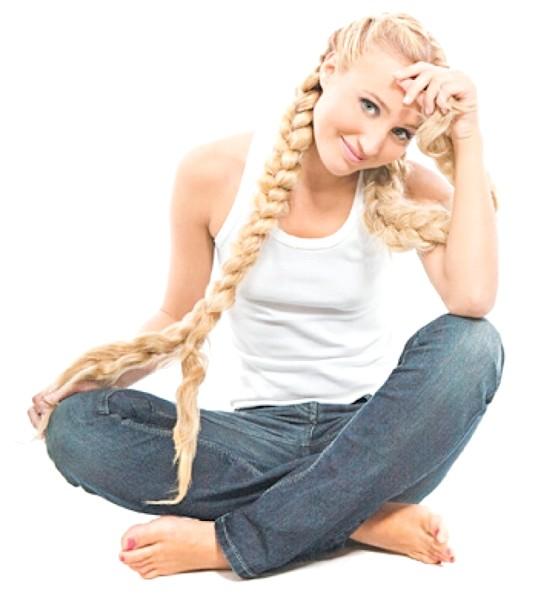 Як заплести коси з довгого волосся