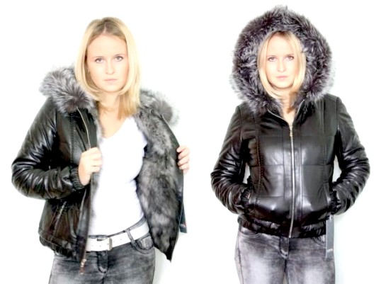 Як почистити куртку з хутром