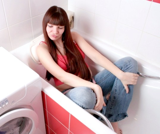 Як очистити пральну машину від цвілі