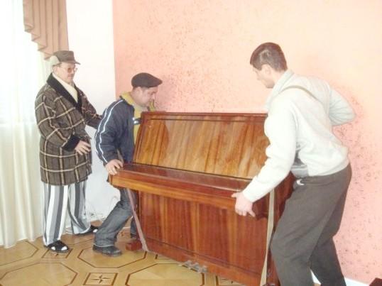 Як перенести піаніно