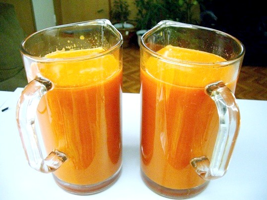 Як приймати морквяний сік