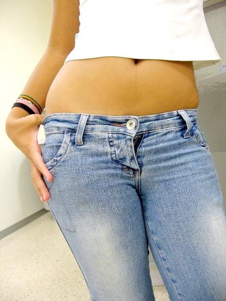 Як розставити джинси