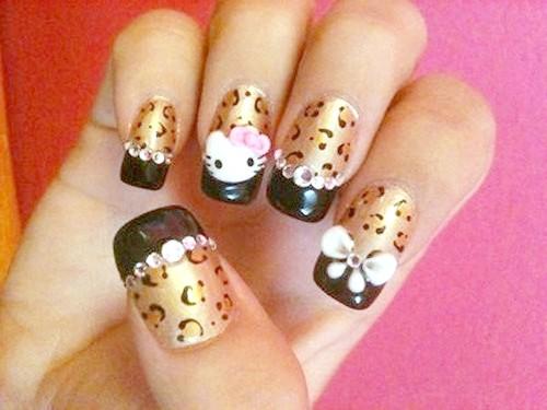 Як прикрасити нігті малюнком