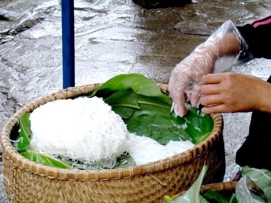 Як варити рисову вермішель