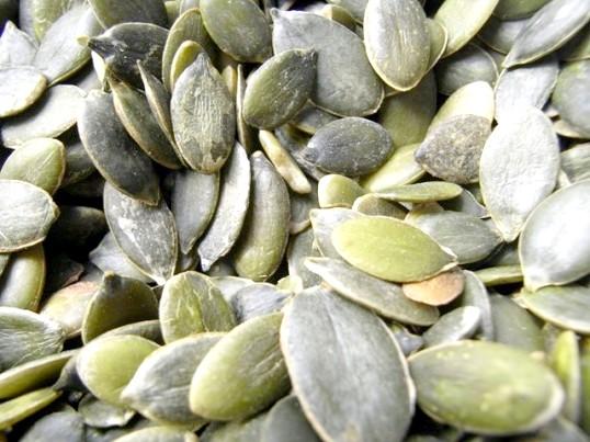 Як чистити гарбузове насіння