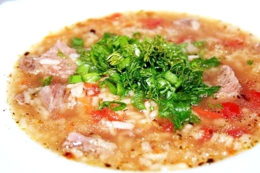 Як робити суп харчо