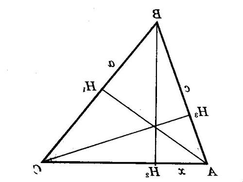 Як накреслити висоту трикутника