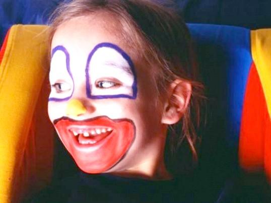 Як намалювати особа клоуна