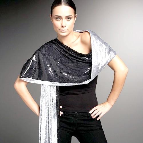 Як носити шарфи-палантини