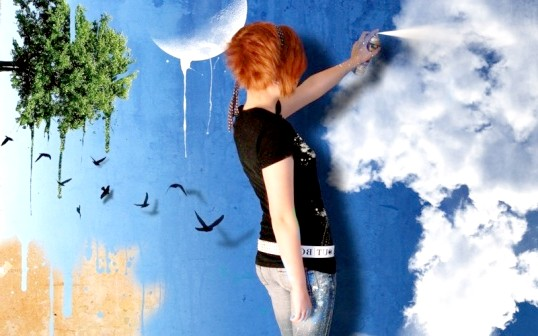 Як пофарбувати стіни в різний колір