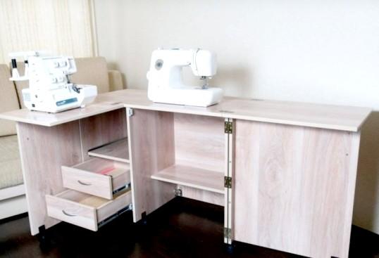 Як зробити стіл для швейної машинки