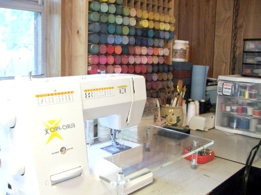 Як вставити нитку в швейну машину