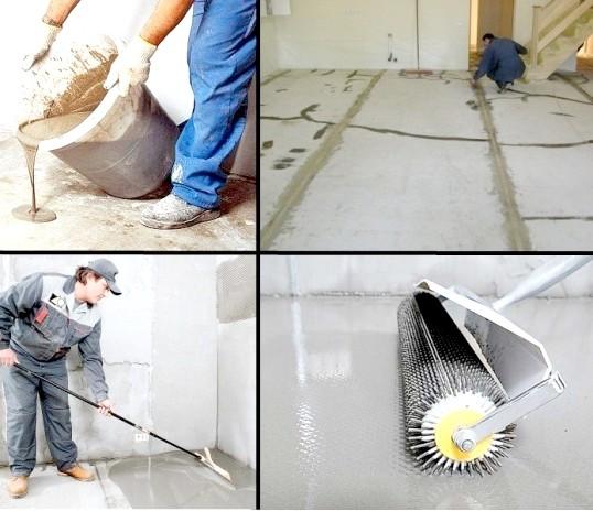 Як залити рідкий підлогу самому