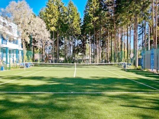 Як побудувати тенісний корт