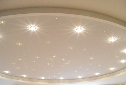 Як розрахувати кількість точкових світильників