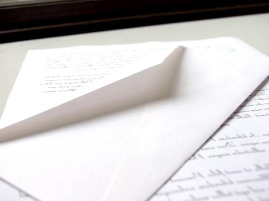 Як заповнити конверт для відправлення за кордон